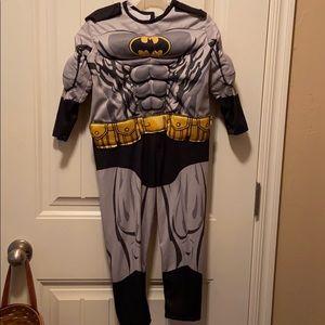 Batman costume, no mask